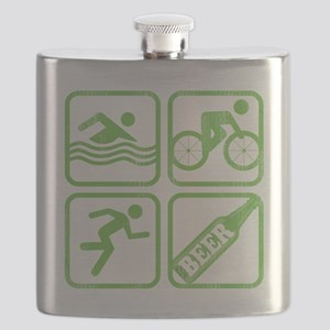 swimbikerunBeer Flask