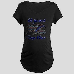 anniversary birds60 Maternity Dark T-Shirt
