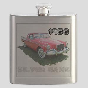 SilverHawk-4 Flask