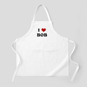 I Love BOB BBQ Apron