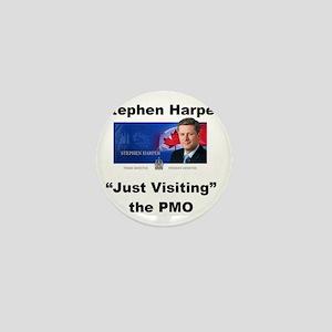 Copy of just visiting PMO small Mini Button