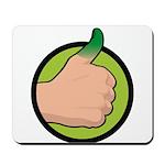 Green Thumb Mousepad