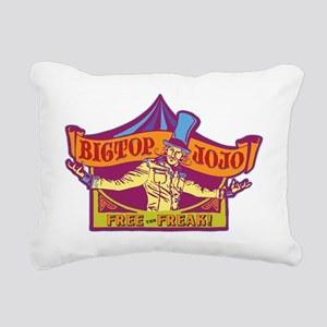 JoJoLogoFreakCP Rectangular Canvas Pillow