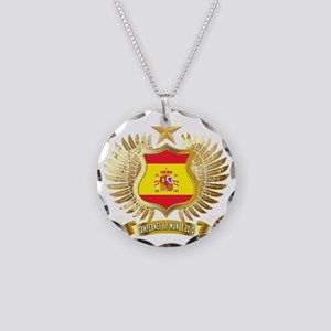 2010 spain champions aaa Necklace Circle Charm