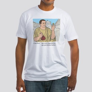 caecilius_col Fitted T-Shirt