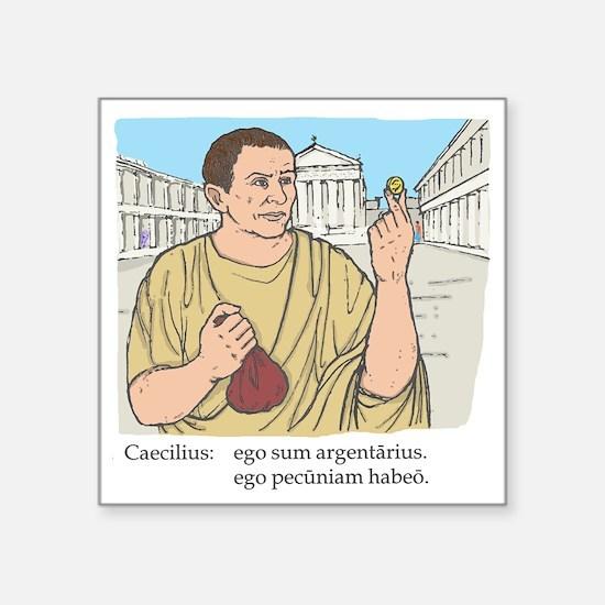 "caecilius_col Square Sticker 3"" x 3"""