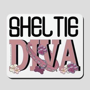 Sheltie DIVA Mousepad