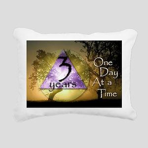 3-ODAAT3 Rectangular Canvas Pillow