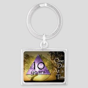 2-ODAAT10 Landscape Keychain