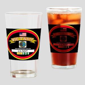 CVA14BLACKTSHIRT Drinking Glass