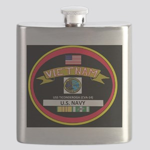 CVA14BLACKTSHIRT Flask