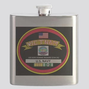 CVA31BLACKTSHIRT Flask