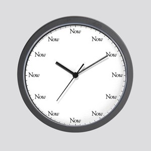 The Now Wall Clock