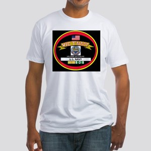 CVA43BLACKTSHIRT Fitted T-Shirt