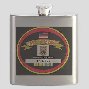 CVA59BLACKTSHIRT Flask