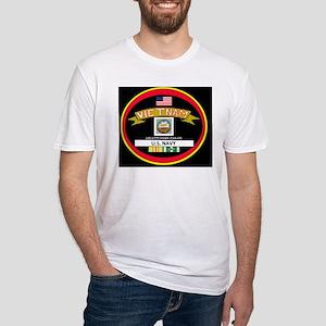 CVA63BLACKTSHIRT Fitted T-Shirt