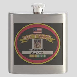 CVA61BLACKTSHIRT Flask