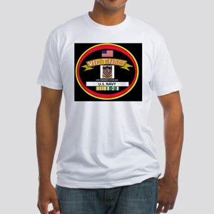 CVA61BLACKTSHIRT Fitted T-Shirt
