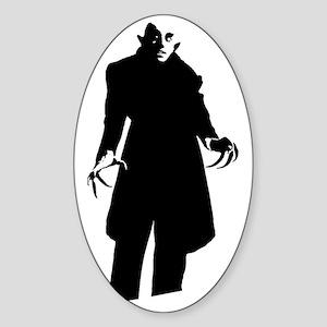nosferatu Sticker (Oval)