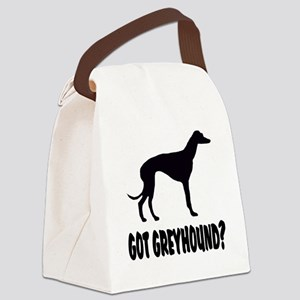 Got Greyhound Canvas Lunch Bag