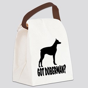 Got Doberman Canvas Lunch Bag