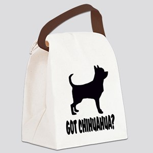 Got Chihuahua Canvas Lunch Bag