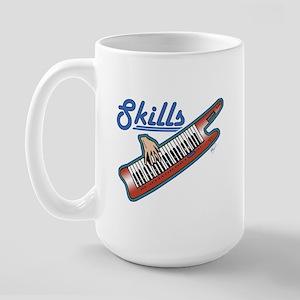 keytar skills Large Mug