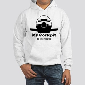 Enormous Cockpit Hooded Sweatshirt