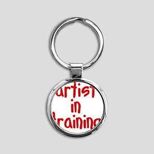 artist_in_training Round Keychain