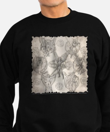7Angels10x10BlkT Sweatshirt (dark)