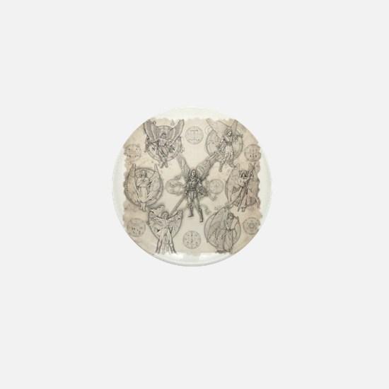 7Angels10x10BlkT Mini Button