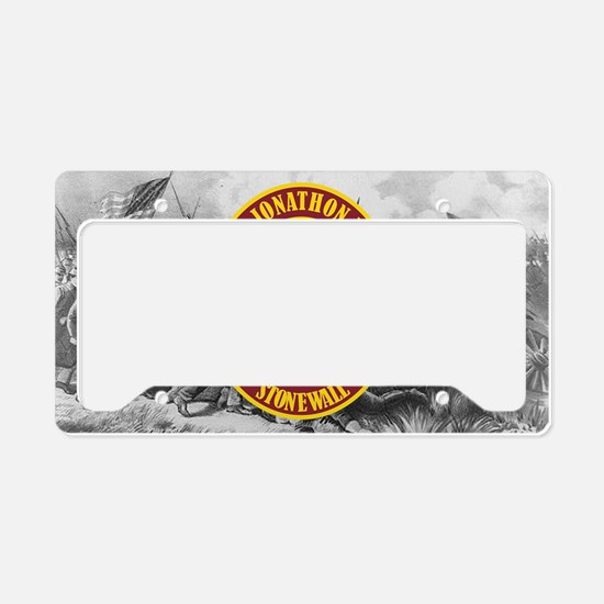 Jackson (battle)2 License Plate Holder