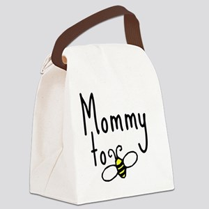 bee_mommy Canvas Lunch Bag