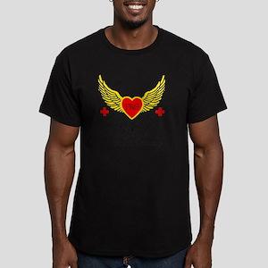 1-214 frg color Men's Fitted T-Shirt (dark)