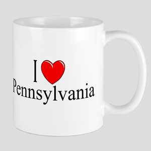 """I Love Pennsylvania"" Mug"
