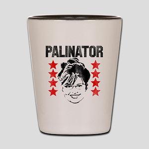 Palinator Shot Glass