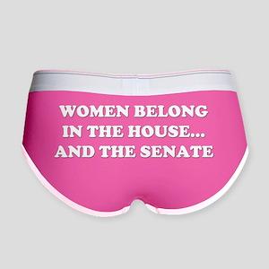 Women belong in the house B Women's Boy Brief