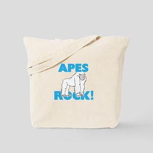Apes rock! Tote Bag