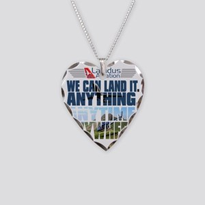 3-Lapidus Aviation Necklace Heart Charm
