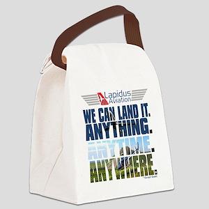 3-Lapidus Aviation Canvas Lunch Bag