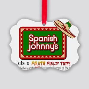 2-Spanish johnnys Picture Ornament