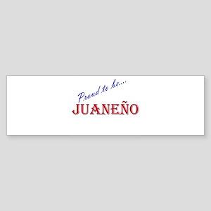 Juaneno Bumper Sticker