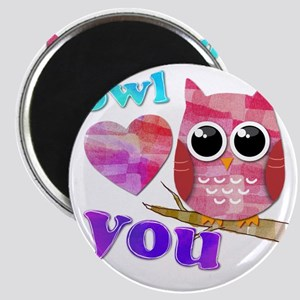 owllove you Magnet