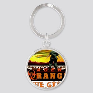 GIFT THAT KEEPS ON GIVING Round Keychain
