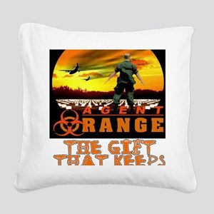 GIFT THAT KEEPS ON GIVING Square Canvas Pillow