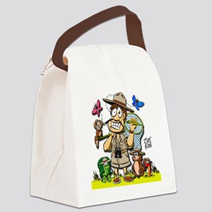 2-ranger-giant-shadow Canvas Lunch Bag