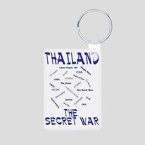 THAILAND SECRET WAR Aluminum Photo Keychain