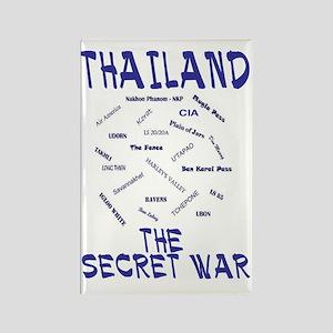 THAILAND SECRET WAR Rectangle Magnet