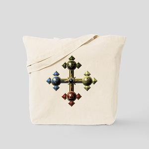 Gold-Eclipse-Elemental-Cross-Symbols-10x1 Tote Bag