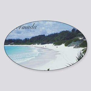 Bermuda1 Sticker (Oval)